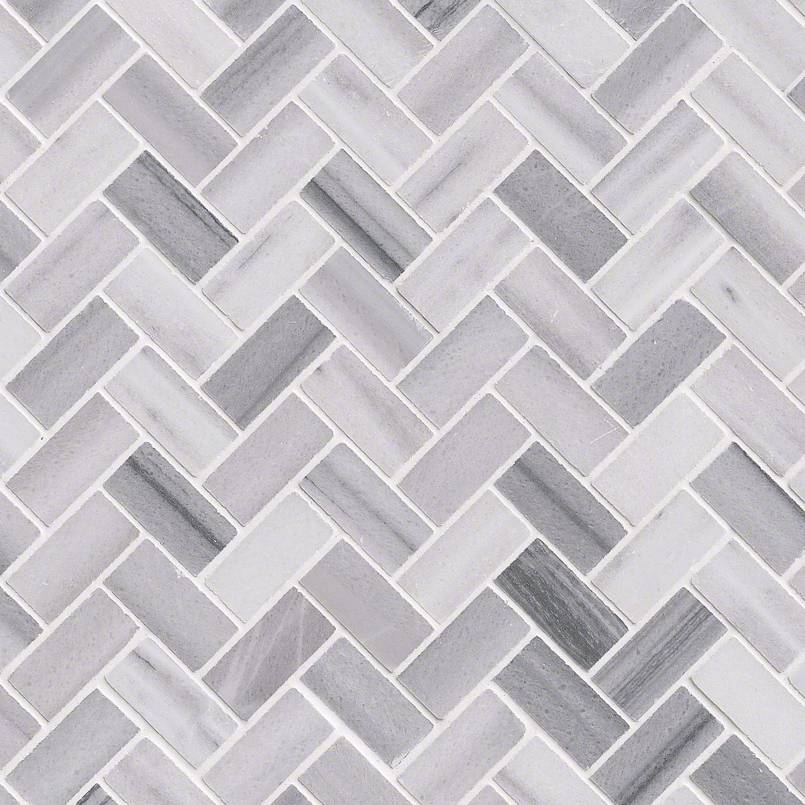 DECORATIVE MOSAICS, Tiles and Flooring msi-tiles-flooring-bergamo-herringbone-SMOT-BERGAMO-HB10MM