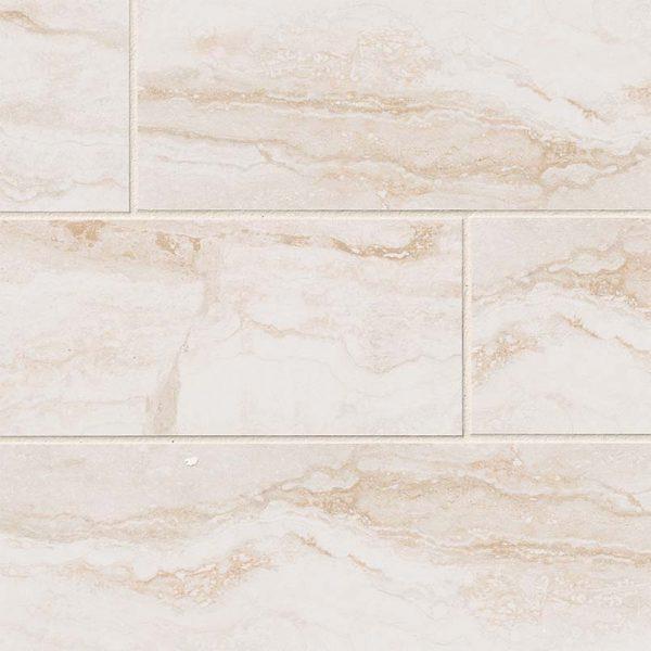 PORCELAIN FLOOR TILES, Tiles and Flooring msi-tiles-flooring-bernini-bianco-4x18-NBERBIA4X18