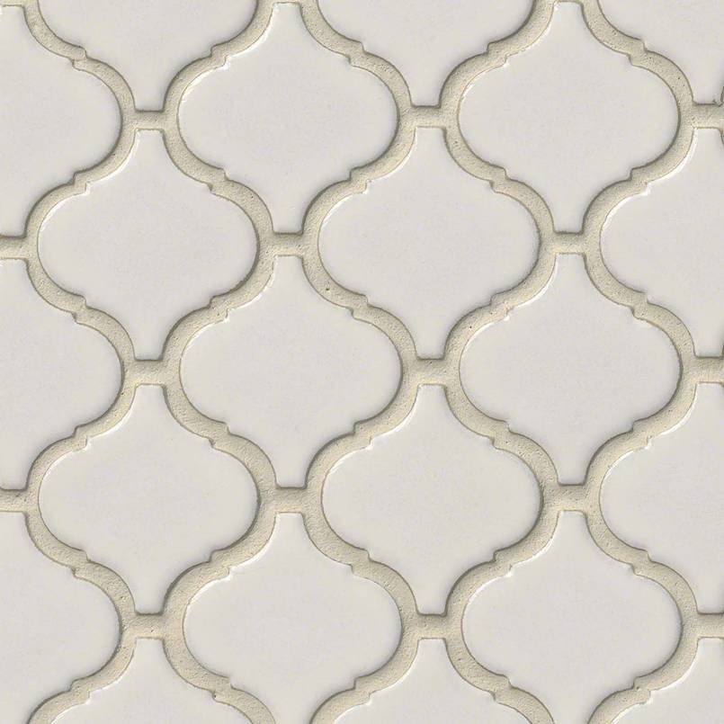 DECORATIVE MOSAICS, Tiles and Flooring msi-tiles-flooring-bianco-arabesque-SMOT-PT-BIANCO-ARABESQ