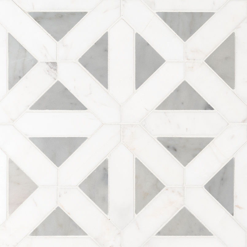 NATURAL STONE MARBLE COLLECTIONS, Tiles and Flooring msi-tiles-flooring-bianco-dolomite-geometrica-mosaic-SMOT-BIANDOL-GEOP