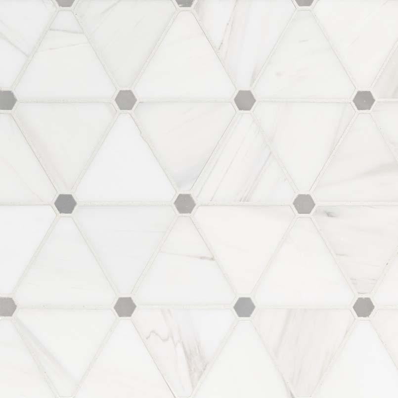 NATURAL STONE MARBLE COLLECTIONS, Tiles and Flooring msi-tiles-flooring-bianco-dolomite-pinwheel-mosaic-SMOT-BIANDOL-PINWP