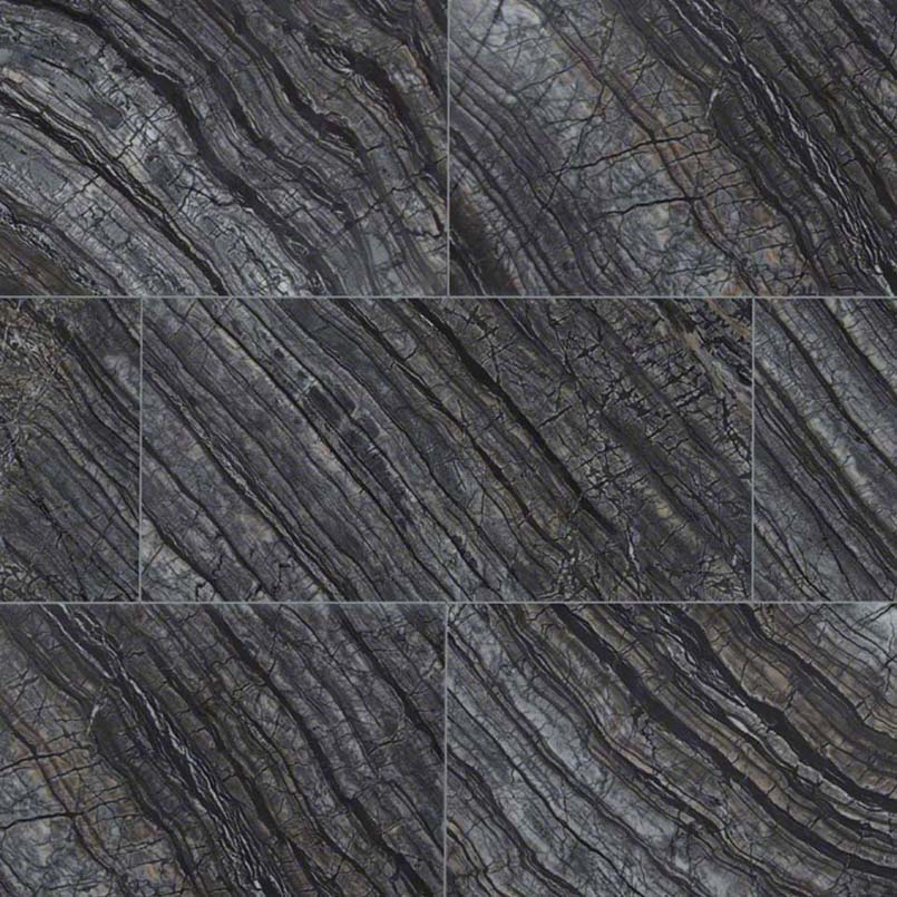 NATURAL STONE MARBLE COLLECTIONS, Tiles and Flooring msi-tiles-flooring-black-oak-12x24-TBLKOAK12240.38P