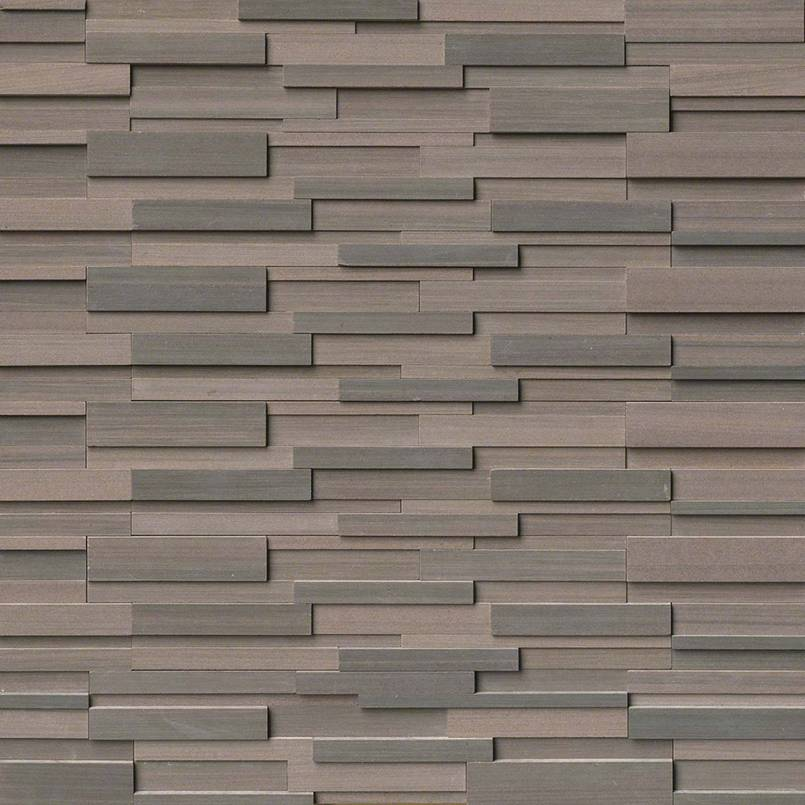 STACKED STONE – ROCKMOUNT, Tiles and Flooring tiles-and-flooring-brown-wave-3d-honed-6x24-panel-2-LPNLDBROWAV624-3DH