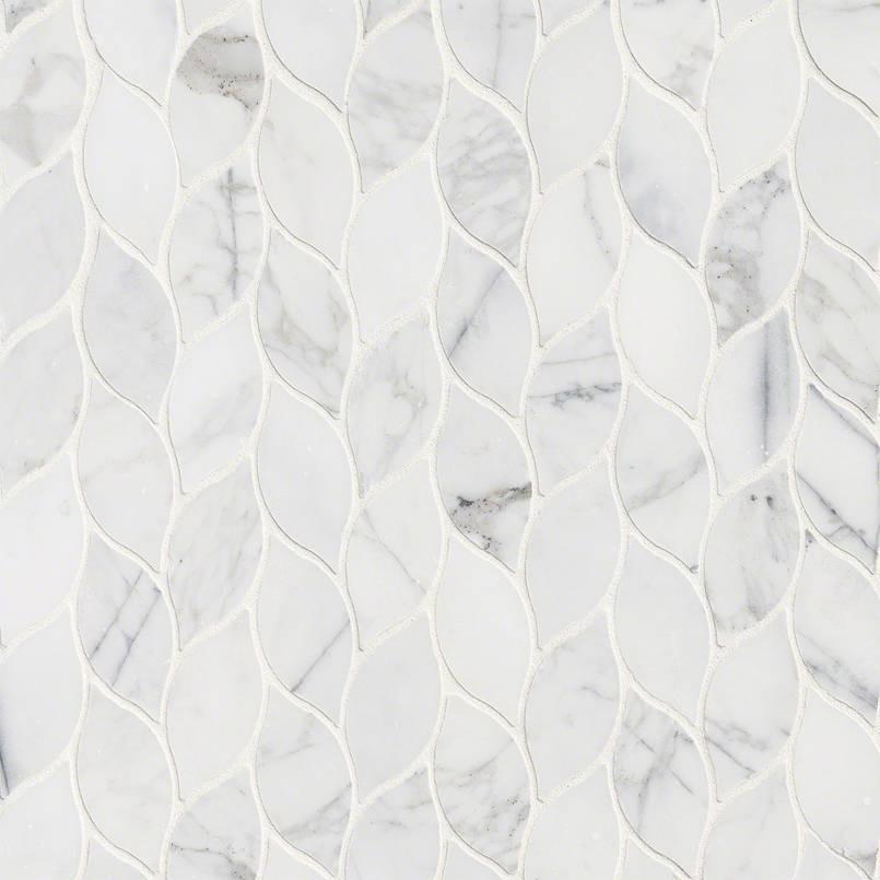 NATURAL STONE MARBLE COLLECTIONS, Tiles and Flooring msi-tiles-flooring-calacatta-blanco-mosaic-SMOT-CALBLA-POL10MM