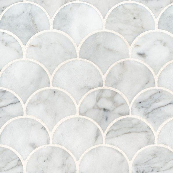 Tile Samples msi-tiles-flooring-calacatta-blanco-scallop-mosaic-SMOT-CALBLA-SCALOP10MM