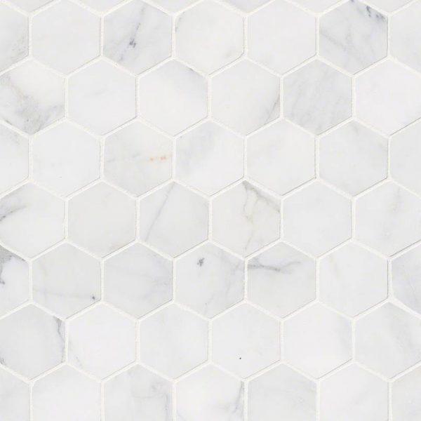 Tile Samples msi-tiles-flooring-calacatta-cressa-hex-mosaic-SMOT-CALCRE-2HEXH
