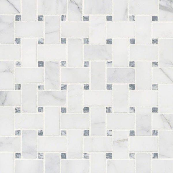 Tile Samples msi-tiles-flooring-calacatta-cressa-basketweave-mosaic-SMOT-CALCRE-BWH
