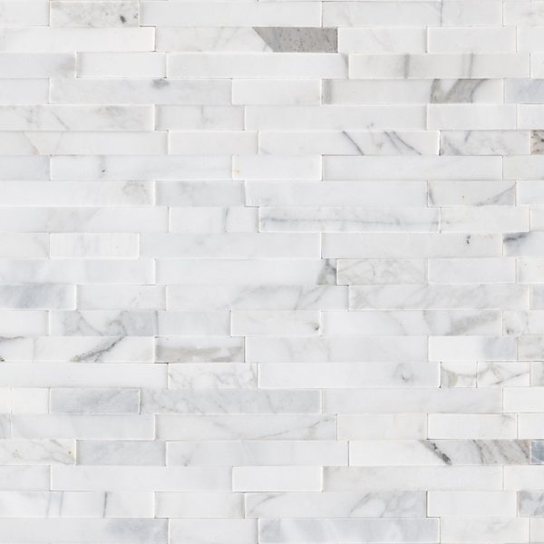 Tile Samples msi-tiles-flooring-calacatta-cressa-interlocking-3d-peelstick-mosaic-SMOT-PNS-CALCREIL3D-6MM