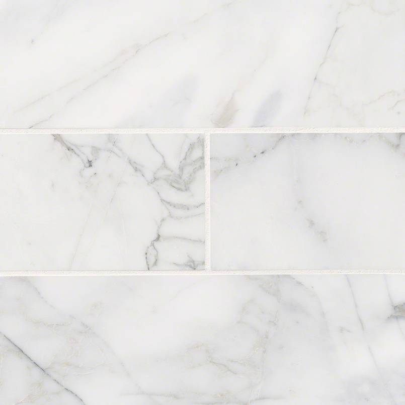 NATURAL STONE MARBLE COLLECTIONS, Tiles and Flooring msi-tiles-flooring-calacatta-cressa-4x12-TCALCRE412H