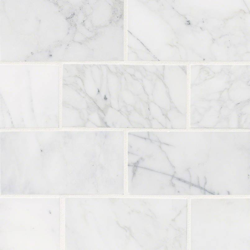 NATURAL STONE MARBLE COLLECTIONS, Tiles and Flooring msi-tiles-flooring-calacatta-cressa-3x6-TCALCRE36H
