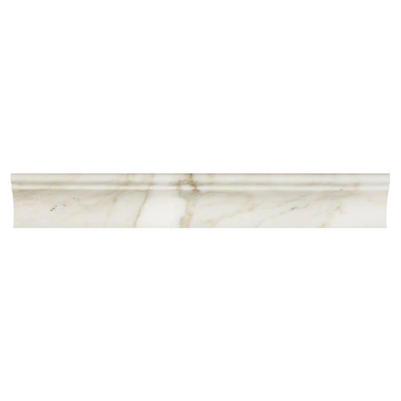 NATURAL STONE MARBLE COLLECTIONS, Tiles and Flooring msi-tiles-flooring-calacatta-gold-cornice-molding-SMOT-CORNICE-CALAGOLDP