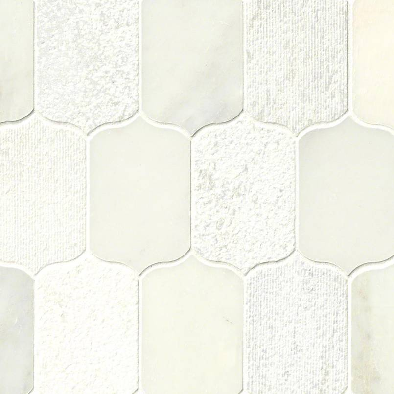 DECORATIVE MOSAICS, Tiles and Flooring msi-tiles-flooring-calypso-blanco-lotus-SMOT-CALPBLA-MF10MM