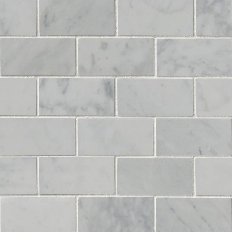 Tile Samples msi-tiles-flooring-carrara-white-2x4-mosaic-SMOT-CAR-2X4P