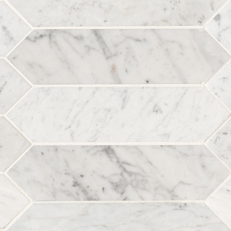 Tile Samples msi-tiles-flooring-carrara-white-3x12-picket-honed-SMOT-CAR-PK3X12H