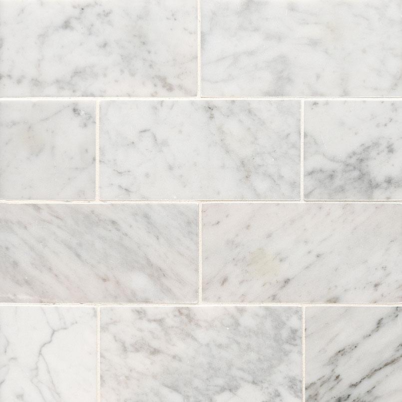 Tile Samples msi-tiles-flooring-carrara-white-3x6-honed-TCARWHT36H
