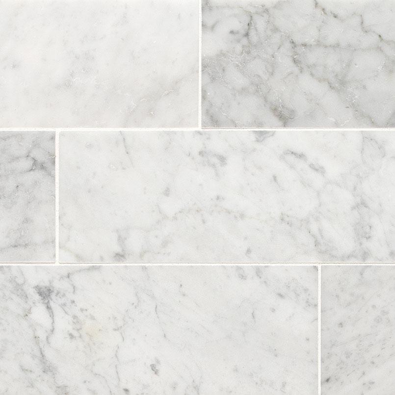 Tile Samples msi-tiles-flooring-carrara-white-4x12-honed-TCARWHT412H