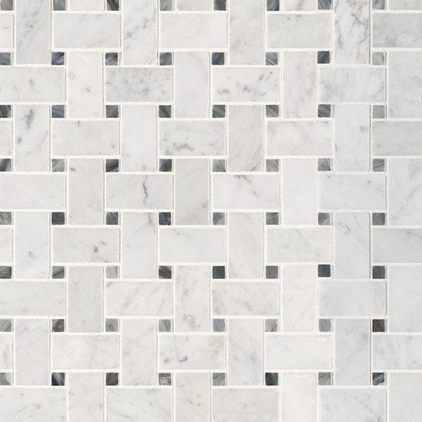 Tile Samples msi-tiles-flooring-carrara-white-basketweave-pat-honed-SMOT-CAR-BWH