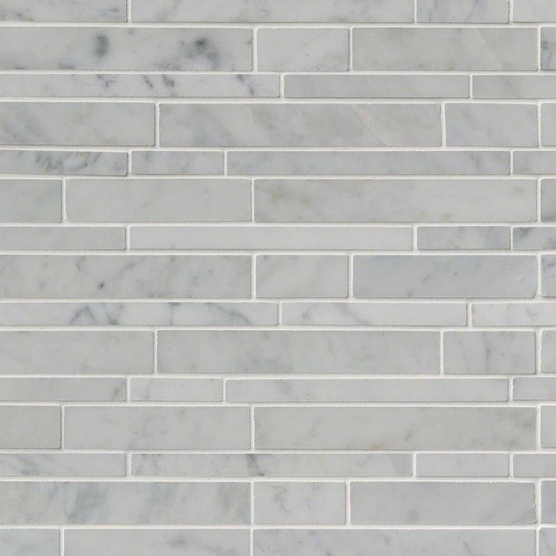 NATURAL STONE MARBLE COLLECTIONS, Tiles and Flooring msi-tiles-flooring-carrara-white-rsp-mosaic-SMOT-CAR-RSP