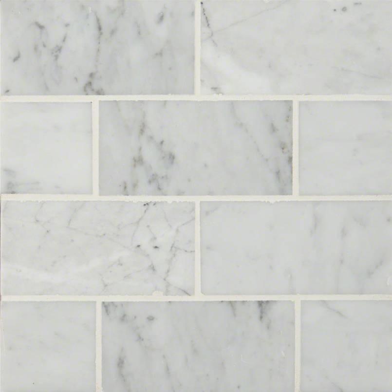 Tile Samples msi-tiles-flooring-carrara-white-3x6-TCARWHT36P