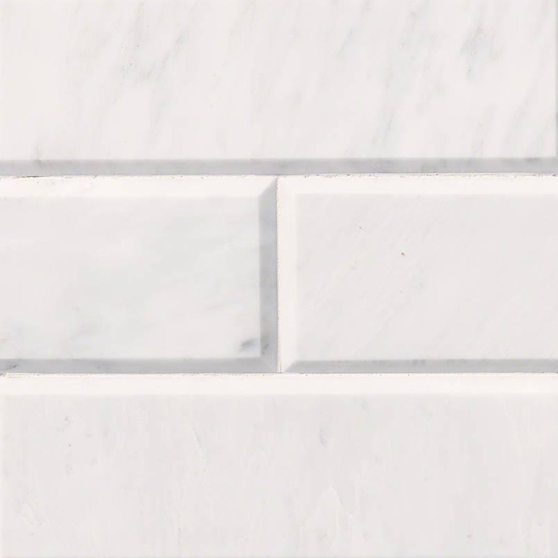 Tile Samples msi-tiles-flooring-carrara-white-4x12-polished-and-beveled-TCARWHT412PB