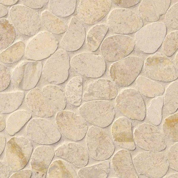 DECORATIVE MOSAICS, RIO LAGO COLLECTION, Tiles and Flooring msi-tiles-flooring-coastal-sand-pebbles-mesh-backed-SMOT-COASAN-PEB