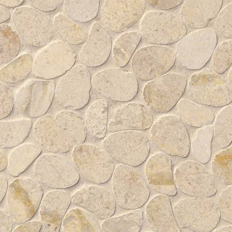 DECORATIVE MOSAICS, RIO LAGO COLLECTION, Tiles and Flooring msi-tiles-flooring-coastal-sand-pebbles-mesh-backed-SMOT-COASAN-PEB
