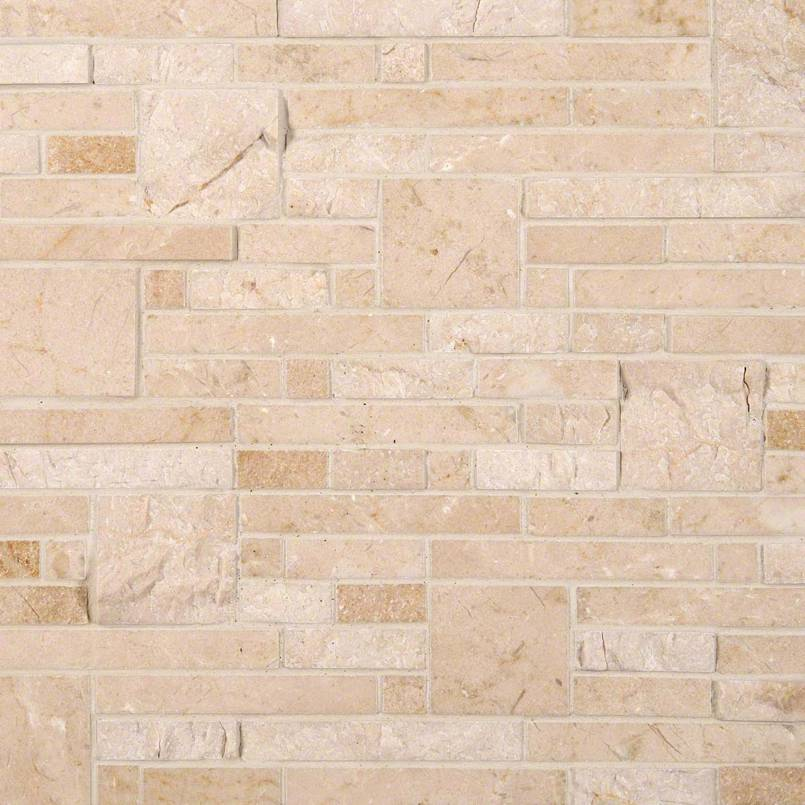 NATURAL STONE MARBLE COLLECTIONS, Tiles and Flooring msi-tiles-flooring-crema-marfil-opus-mosaic-SMOT-CREMA-OPUS