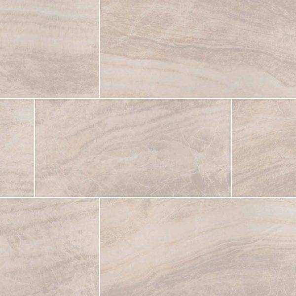 PORCELAIN FLOOR TILES, Tiles and Flooring msi-tiles-flooring-praia-crema-24x48-polished-NPRACRE2448P