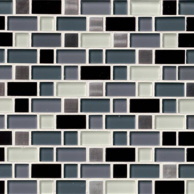 DECORATIVE MOSAICS, Tiles and Flooring msi-tiles-flooring-crystal-cove-blend-THDWG-GLMT-CCB-8MM
