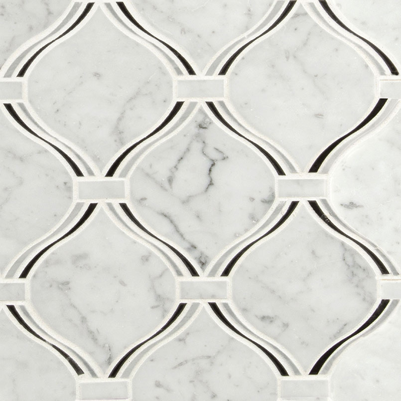 NATURAL STONE MARBLE COLLECTIONS, Tiles and Flooring msi-tiles-flooring-danza-aarabesque-polished-SMOT-DANARA-POL8MM