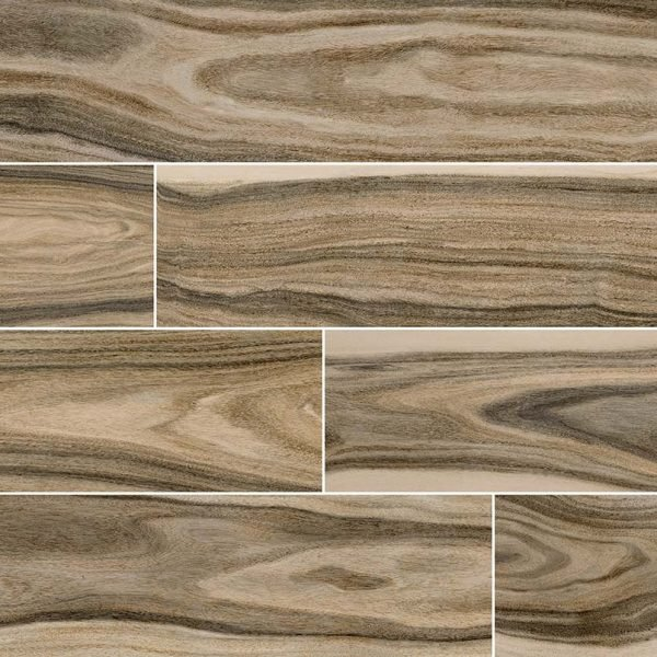 PORCELAIN FLOOR TILES, Tiles and Flooring msi-tiles-flooring-dellano-deep-bark-8x48-NDELDEEBAR8X48P