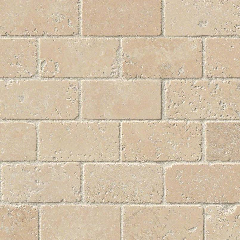 NATURAL STONE TRAVERTINE COLLECTIONS, Tiles and Flooring msi-tiles-flooring-durango-2x4-mosaic-SMOT-BRICK-DUR