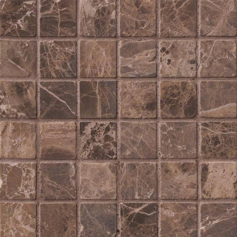 NATURAL STONE MARBLE COLLECTIONS, Tiles and Flooring msi-tiles-flooring-emperador-dark-mosaic-SMOT-EMP-2X2-T