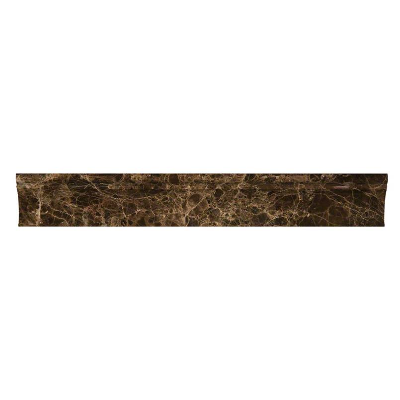 NATURAL STONE MARBLE COLLECTIONS, Tiles and Flooring msi-tiles-flooring-emperador-dark-cornice-molding-SMOT-CORNICE-EMP