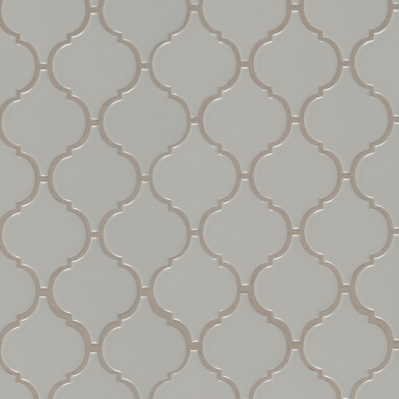 DECORATIVE MOSAICS, DOMINO COLLECTION, Tiles and Flooring msi-tiles-flooring-gray-glossy-arabesque-NGRAARAG