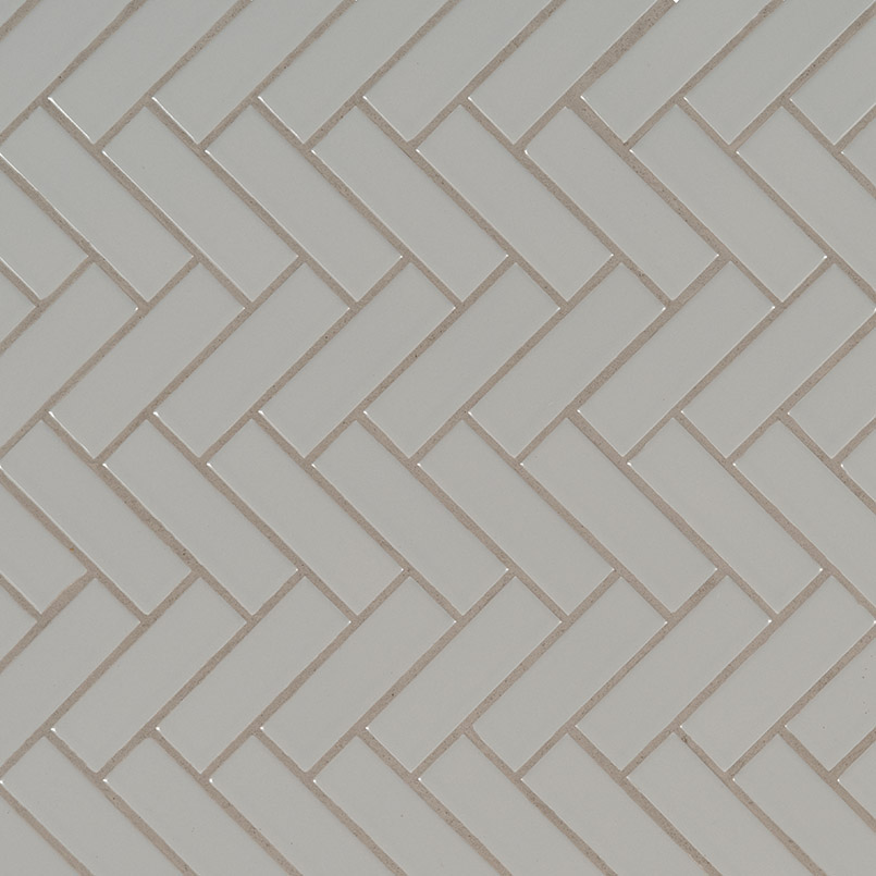 DECORATIVE MOSAICS, DOMINO COLLECTION, Tiles and Flooring msi-tiles-flooring-gray-glossy-herringbone-NGRAHBG