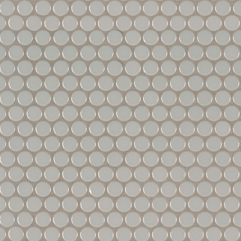 DECORATIVE MOSAICS, DOMINO COLLECTION, Tiles and Flooring msi-tiles-flooring-gray-glossy-penny-round-NGRAPENROU