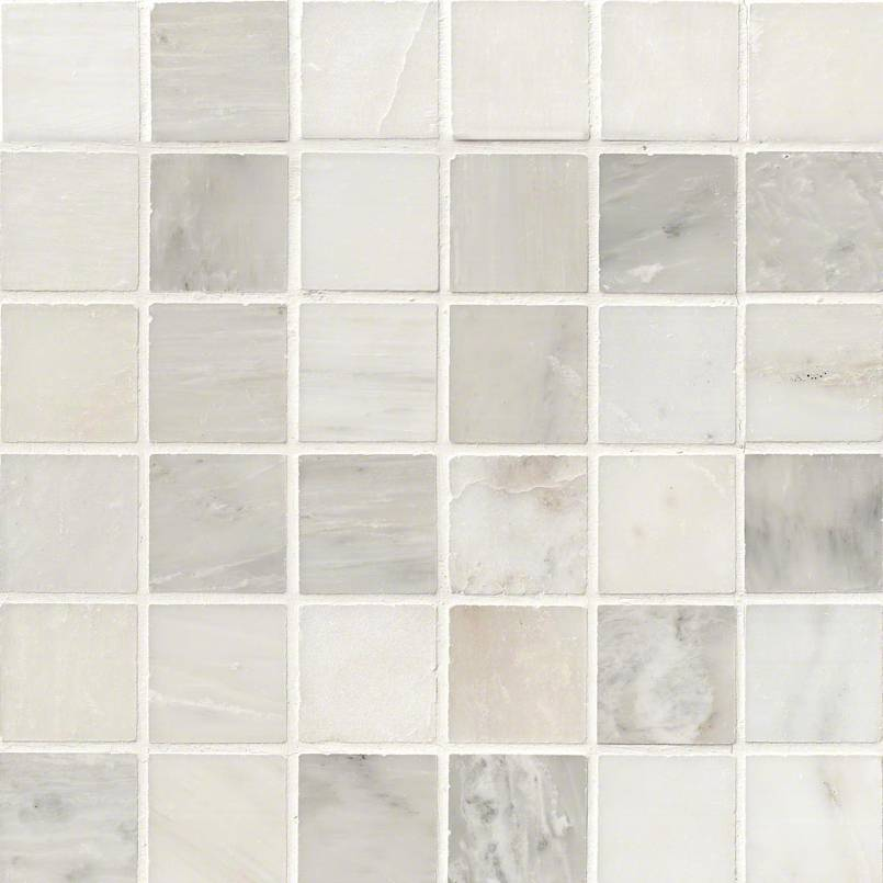 NATURAL STONE MARBLE COLLECTIONS, Tiles and Flooring msi-tiles-flooring-greecian-white-2x2-mosaic-THDW1-SH-GW2x2