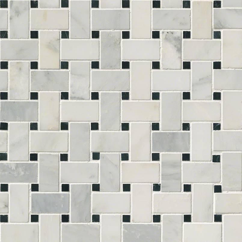 NATURAL STONE MARBLE COLLECTIONS, Tiles and Flooring msi-tiles-flooring-greecian-white-basketweave-mosaic-SMOT-GRE-BWP