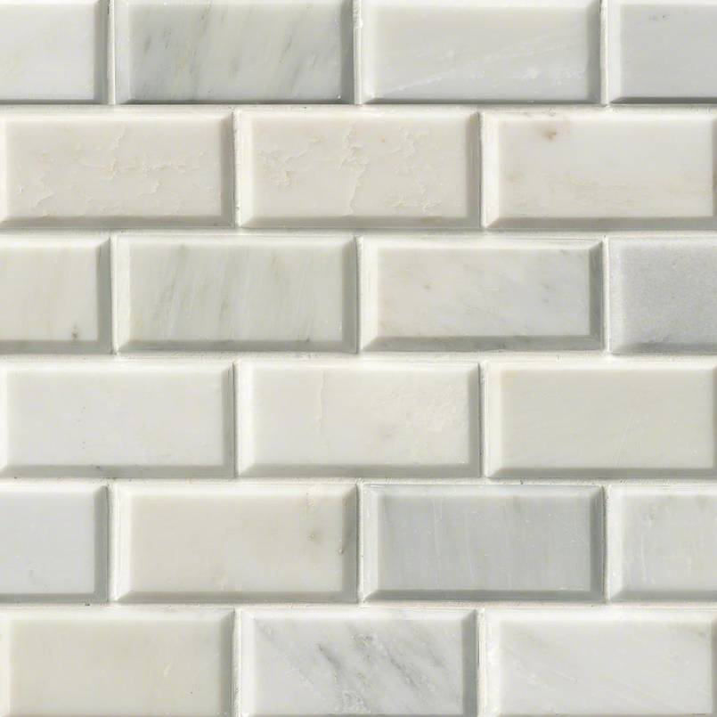 NATURAL STONE MARBLE COLLECTIONS, Tiles and Flooring msi-tiles-flooring-greecian-white-2x4-mosaic-SMOT-GRE-2X4PB