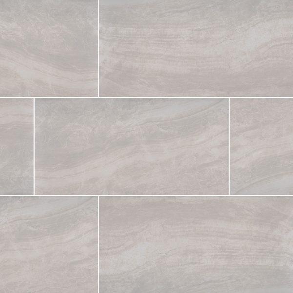 PORCELAIN FLOOR TILES, Tiles and Flooring msi-tiles-flooring-praia-grey-12x24-polished-NPRAGRE1224P