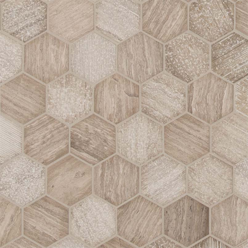 DECORATIVE MOSAICS, Tiles and Flooring msi-tiles-flooring-honey-comb-hexagon-SMOT-HONCOM-2HEX