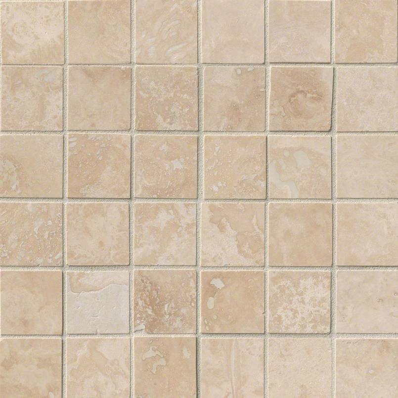 NATURAL STONE TRAVERTINE COLLECTIONS, Tiles and Flooring msi-tiles-flooring-tuscany-ivory-2x2-THDW1-SH-IVO2x2