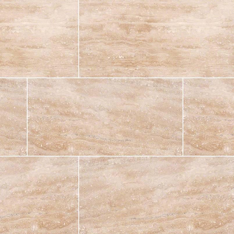 NATURAL STONE TRAVERTINE COLLECTIONS, Tiles and Flooring msi-tiles-flooring-tuscany-ivory-vein-cut-12x24-TTIVORYVC1224HF