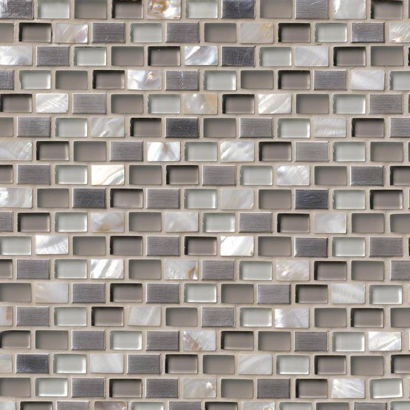 DECORATIVE MOSAICS, Tiles and Flooring msi-tiles-flooring-keshi-blend-mini-brick-SMOT-GLSMT-KESHI8MM