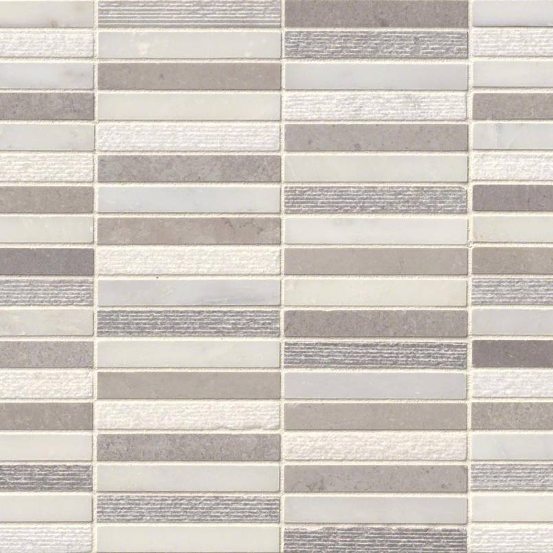 DECORATIVE MOSAICS, Tiles and Flooring msi-tiles-flooring-linea-mixed-finish-SMOT-LINEA-MF10MM