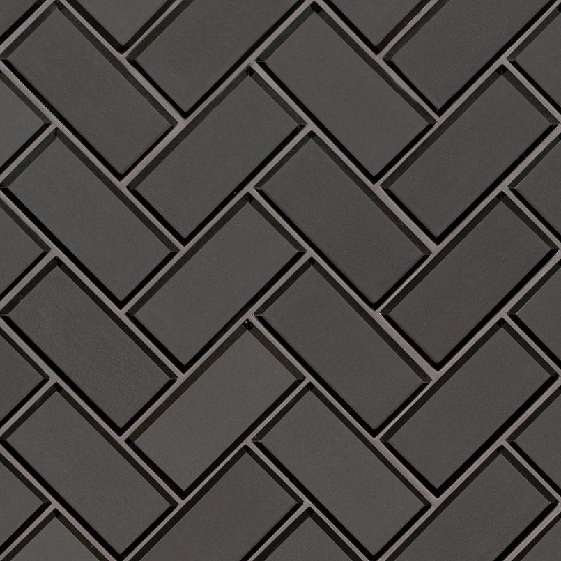 DECORATIVE MOSAICS, Tiles and Flooring msi-tiles-flooring-metallic-gray-bevel-herringbone-SMOT-GLS-MEGRBEHB8MM