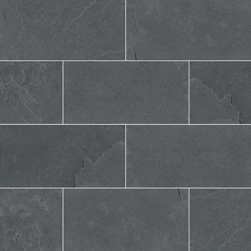 QUARTZITE COLLECTIONS, Tiles and Flooring msi-tiles-flooring-montauk-black-3x6-SMONBLK36G