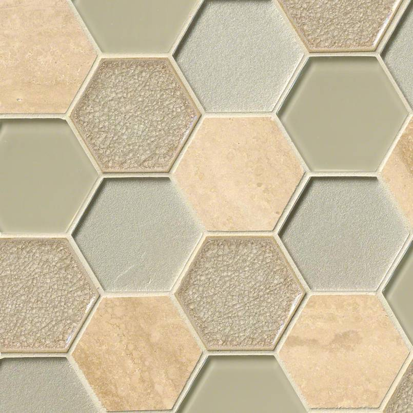 DECORATIVE MOSAICS, Tiles and Flooring msi-tiles-flooring-monterra-blend-hexagon-SMOT-SGLS-MONBLND8MM