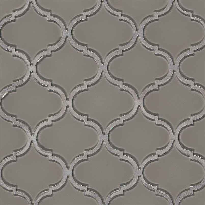 DECORATIVE MOSAICS, Tiles and Flooring msi-tiles-flooring-pebble-arabesque-SMOT-GLS-PEBARA8MM